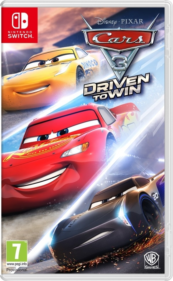 Auta 3 Wysokie Obroty / Cars 3 Driven to Win Nintendo Switch